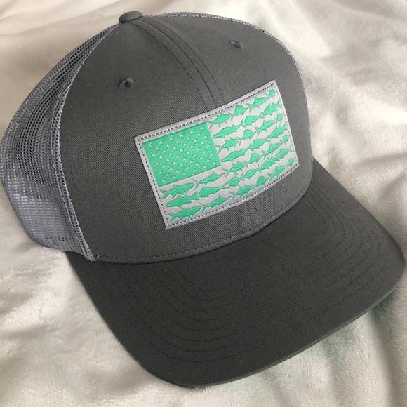 2e08753e8cdc9 Columbia Other - Columbia PFG Fish Flag Hat